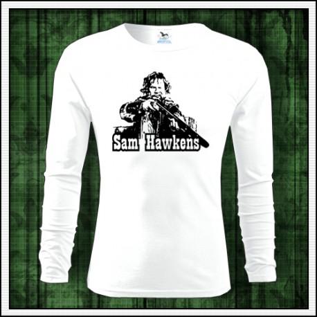 Detské dlhorukávové tričko Sam Hawkens retro darček