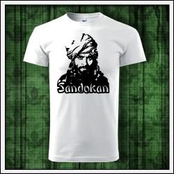 Detské retro tričko Sandokan vhodné ako retro darček