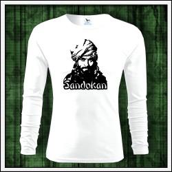 Detské dlhorukávové tričko Sandokan vhodné ako retro darček