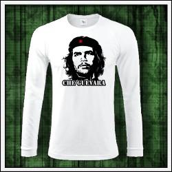 Pánske 180 g. dlhorukávové tričká Che Guevara