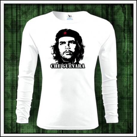 Pánske dlhorukávové retro tričko Che Guevara