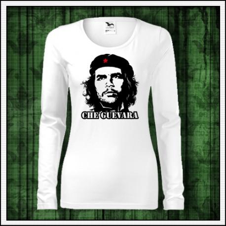 Damske dlhorukavove retro tricko Che Guevara