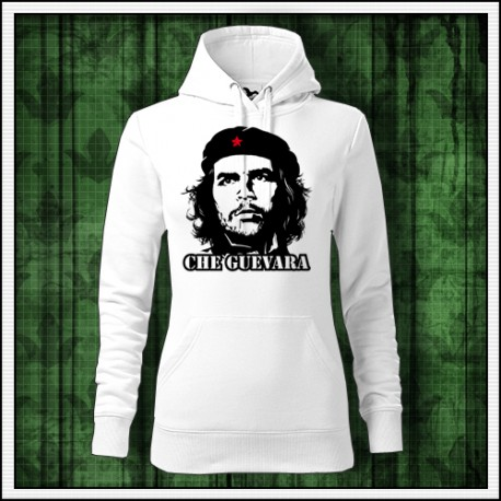 Dámska biela retro mikina Che Guevara