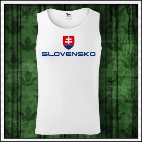 Pánske tielka so slovenským znakom