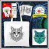 Vyfarbovacia antistresová taška Mačka