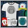 Vyfarbovacie antistresové detské dvojfarebné tričko Sova