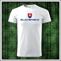 Unisex tričká Slovensko veľký znak