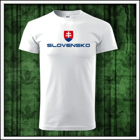Oblecenie so slovenskym znakom, tricka Slovensko