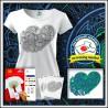 Vyfarbovacie antistresové tričko s patentom Srdce