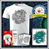 Vyfarbovacie antistresové detské tričko Drak