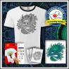 Vyfarbovacie antistresové detské dvojfarebné tričko Drak