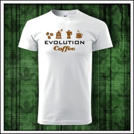 Vtipné tričko kávový darček pre milovníka kávy