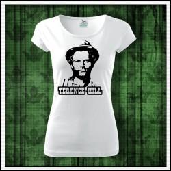 Dámske retro tričko Terence Hill retro darček k narodeninám