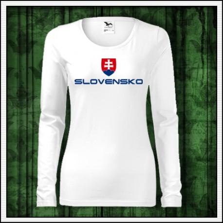 Dámske tricka so slovenskym vzorom