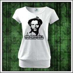 Dámske retro tričko s patentom Terence Hill