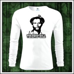 Pánske dlhorukávové tričko retro Terence Hill