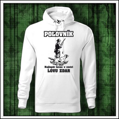 Vtipna panska mikina pre Poľovníka, poľovnícke oblečenie