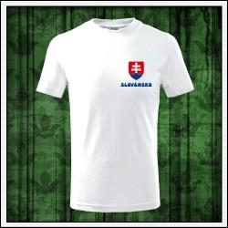 Detské tričká Slovensko malý znak
