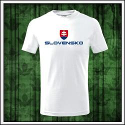 Detské tričká Slovensko veľký znak