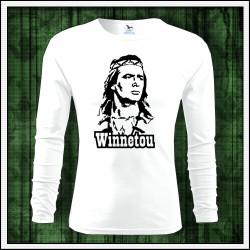 Pánske 160g. dlhorukávové tričká Winnetou