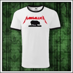 darček paródia Metallica tričko Mangallica