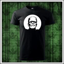 Unisex fosforové tričko Frankenstein