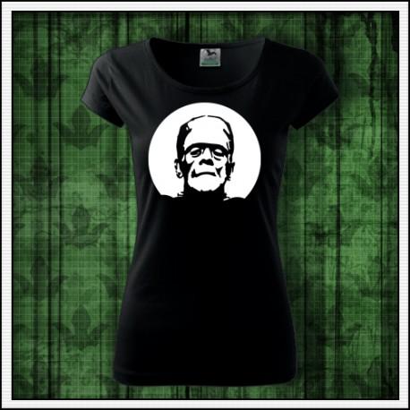 Dámske svietiace tričko Frankenstein