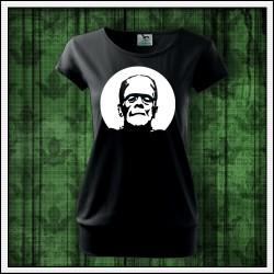Dámske svietiace tričko s patentom Frankenstein
