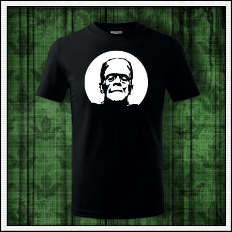 Detské svietiace tričko Frankenstein