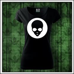Dámske svietiace tričko Alien