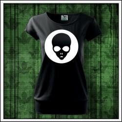 Dámske svietiace tričko s patentom Alien