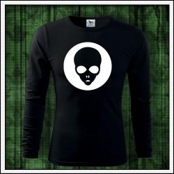 Pánske 160g. dlhorukávové svietiace tričko Alien