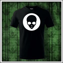 Detské tričko so svietiacim  Alienom
