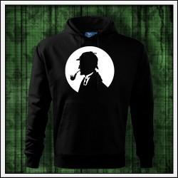 Pánska svietiaca mikina Sherlock Holmes