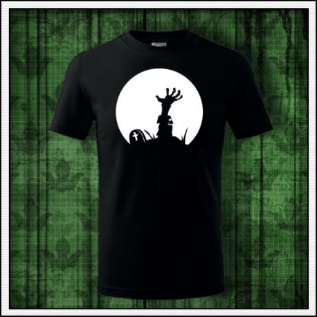 Detské svietiace tričko Zombie ruka
