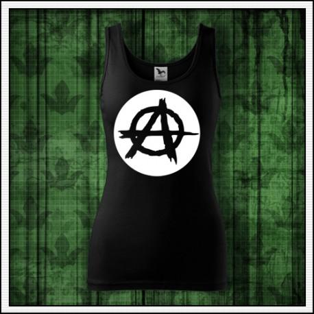 Dámske svietiace tielko Anarchia