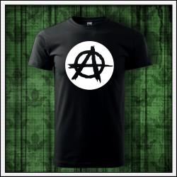 Unisex svietiace tričko Anarchy