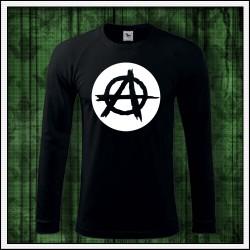 Pánske svietiace tričko Anarchy dlhý rukáv