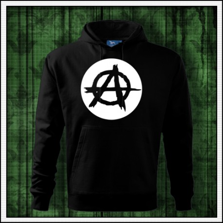 Pánska svietiaca mikina Anarchy