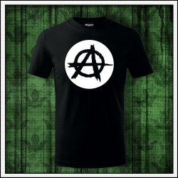 Detské trička svietiace v tme Anarchy