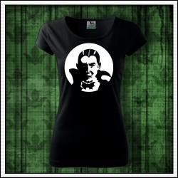 Dámske svietiace tričko Upír