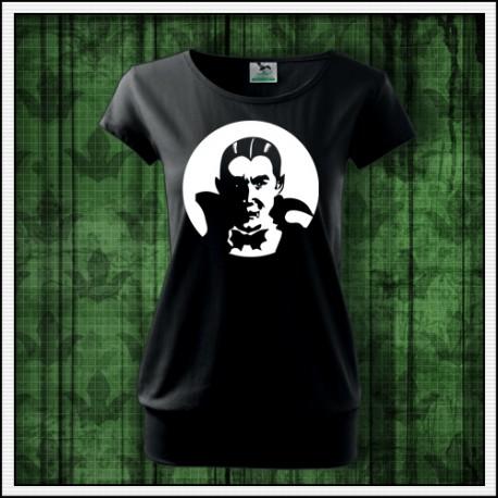 Dámske svietiace tričko s patentom Upír