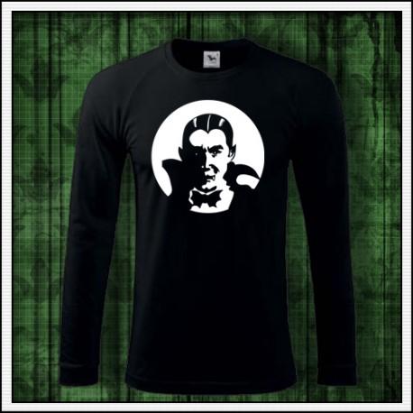 Pánske 180 g. dlhorukávové svietiace tričko s Upírom