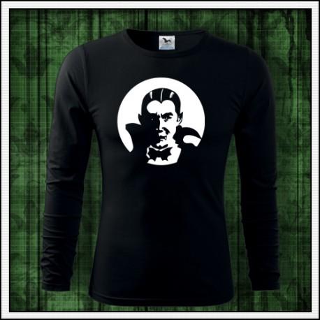 Pánske tričko svietiaca potlač Upír