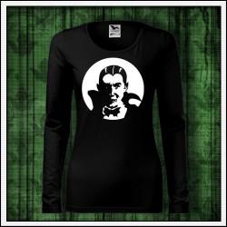 Dámske dlhorukávové svietiace tričko Upír