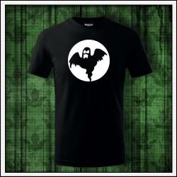 Detské svietiace tričko v tme Duch