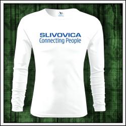 Vtipné pánske dlhorukávové tričko Slivovica