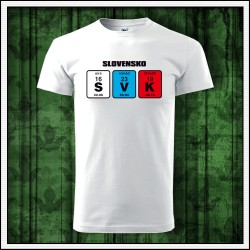 Unisex slovenské tričká