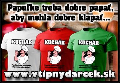 Tričko pre kuchára, kuchárske tričko, vtipné darčeky, vtipný darček, tricko pre kuchara