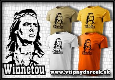 Retro tričko winnetou, tričko winetou, tričko vinnetou, tričko vinetou, tričko vinetu, tričko winetu